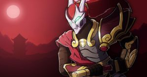 Blood Moon Yasuo (League of Legends) by TheRoseau