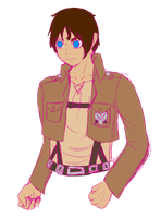 oh god I made his lines hot pink by Monochrome-Colors