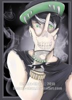 The Skull Tattoo by Decora-Chan