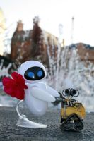 Adventures of Wall-E and Eve 4 by RubberDuckyTai