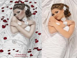 Befor and After Perla by RubyRosy