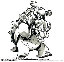 Bowser and son by SupaCrikeyDave