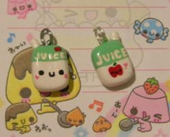 Apple Juice Box Charm by kneazlegurl125