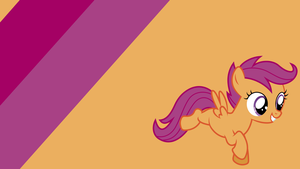 - Scootaloo Seed Wallpaper - by Ponyphile