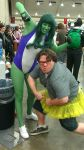Me and She-Hulk @Otakon 2012 number 2 by kevinbolk