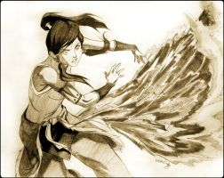 Avatar: The Leyend of Korra by andro0meda