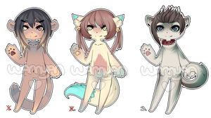 Anthro Adopt Set [CLOSED] by WanNyan