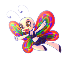 Social Butterfly by Yo-Angie