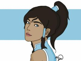Realistic-ish Korra by VictorySoup