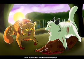 [Warriors] Killin' Old Cats by xXThatEpicDrawerXx