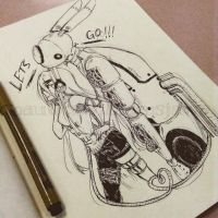 School Doodle #3 by NauticaWilliams
