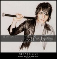 Gerard Way III by mcr-raven