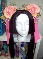 Diao Chan front of wig by lizzyhamham