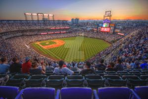 Colorado Rockies Coors Field by boydgphotography
