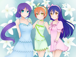 Lily White by LunaLenCreations