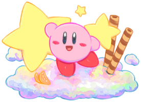 Kirby Parfait by Ktullanyx
