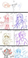 Doodles with kailarogz XDD by JCotakudesu