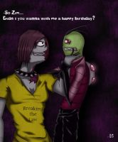 Zim, Say Happy Birthday... by EC-DarkMatter