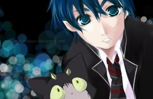 Ao no Exorcist - Ikemen Rin by naruchaaan