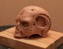 Terminator Endoskull 1/2 scale by Alaneye