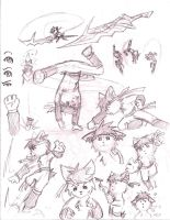 .:EoA:. Kimi sketches by Spirogs