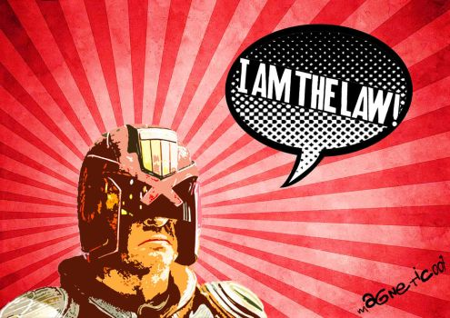 Dredd: I AM THE LAW! by Magnetic007
