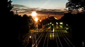 Midnight railroad by Rolmopsis