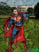 George Bush as Super Man by ruv