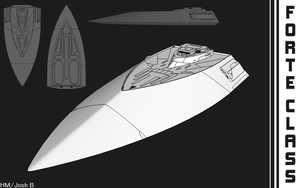 Sketchup Practice: Colony Ship by Hazardmachine