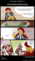 AC2 - The Lasagne Conversation by RedViolett