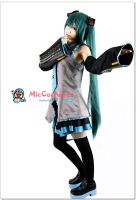 Vocaloid Hatsune Miku Cosplay Costume by miccostumes