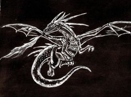 The White Dragon by janiceghosthunter