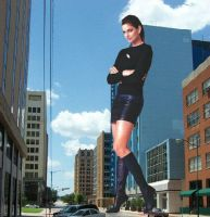 Giant Cindy Crawford #01 by Spulo
