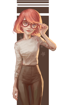 glasses by Mireys