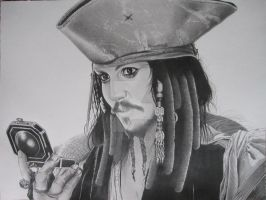 Jack Sparrow Final by corysmithart