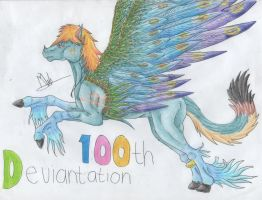 100) 100'th deviantation :3 by Magicull-Delesia