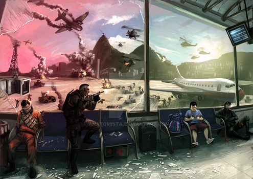 Call of Duty - PSP by anatomista