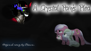 cover art for a crystal pony's plea by lordkalem