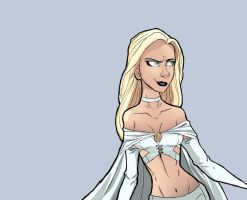 Emma Frost by lady11tea