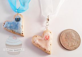 SALE: 2 for 1 Sweet Cookie Necklace by ilikeshiniesfakery