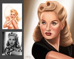 Pinup-Assignment-01B-SMALL by LyleDoucetteArt