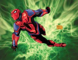 Spiderman end of earth by mdavidct