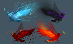 |Themed raven adopts| CLOSED by Rykhers