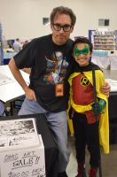 Mick Gray and Damian by FloresFabrications
