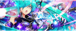 ban miku hatsune vocaloid by Crazychup