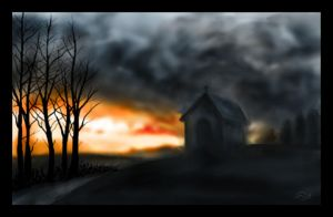 Seeking Shelter - speedpaint by mayec