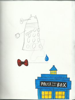 Doctor who Doodle page by Kindra-Mckleen
