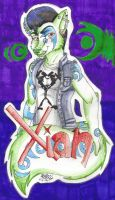 PRIZE: Xian Badge by TheHuntingWolf