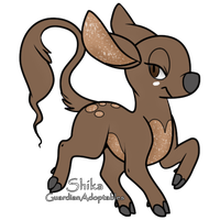 WhiteWinterWolf : Cookie by GuardianAdoptables