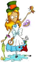 Alice in wonderland by sajtz